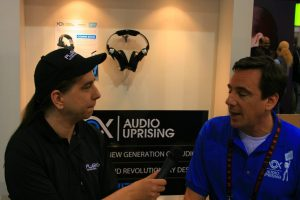 Co-host Scott Ertz, interviewing Nox Audio at CES '11