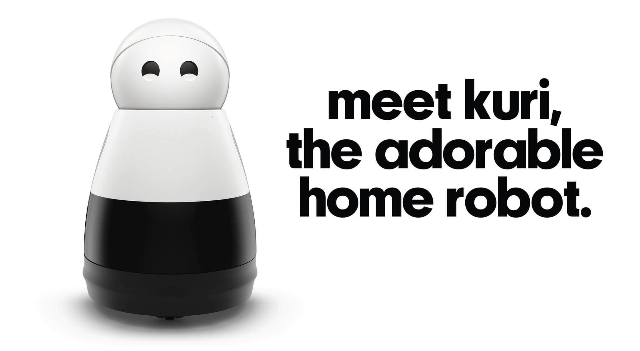 Kuri, the adorable home robot.